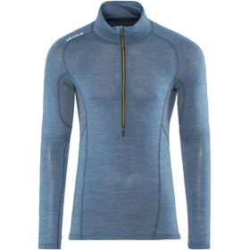Devold M's Running Zip Neck LS Shirt Subsea